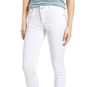 Wit & Wisdom BNWT sz 16 white jeans High rise crop